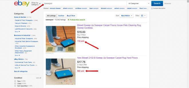 sweeper_ebay_search