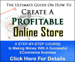 create a profidable online store